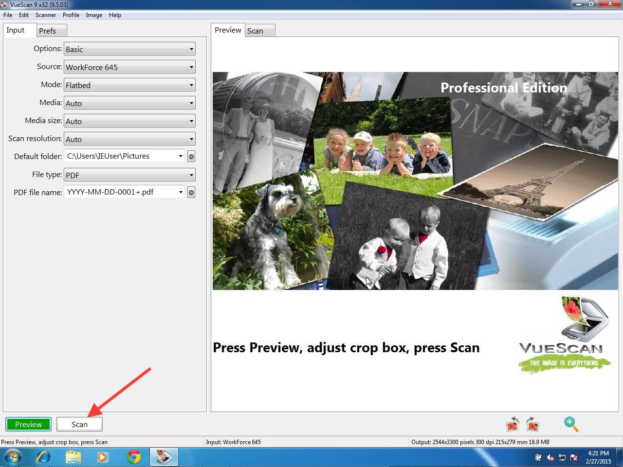 VueScan Pro (x86 & x64) Multilanguage Incl Patch + Serials Screenshot